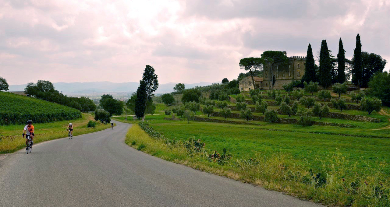 Bike through Tuscany with Andy Hampsten